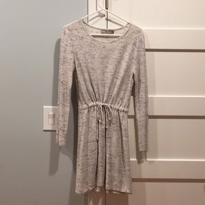 ASOS grey light weight sweater dress